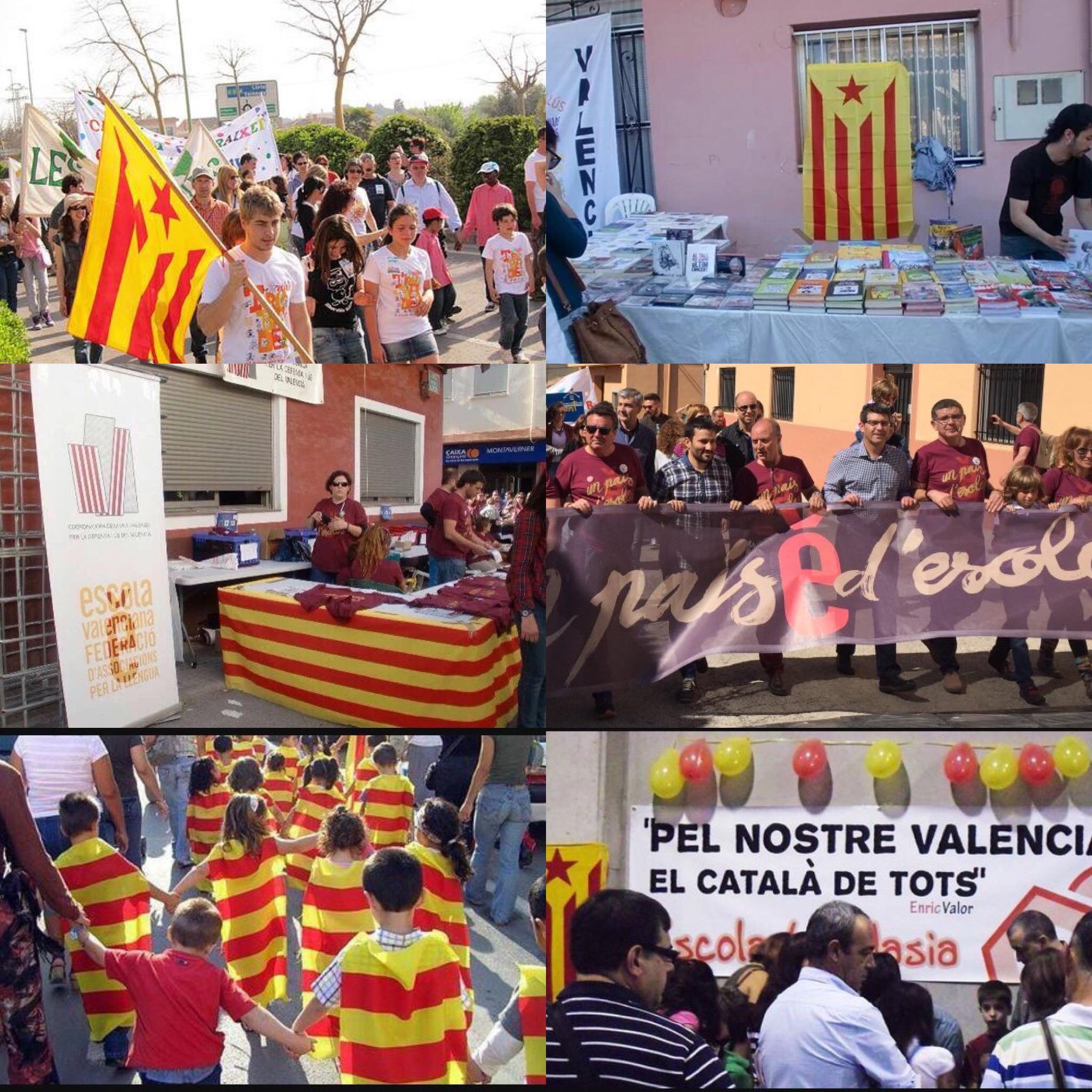 El tripartit porta l'independentisme català a les aules en fondos públics