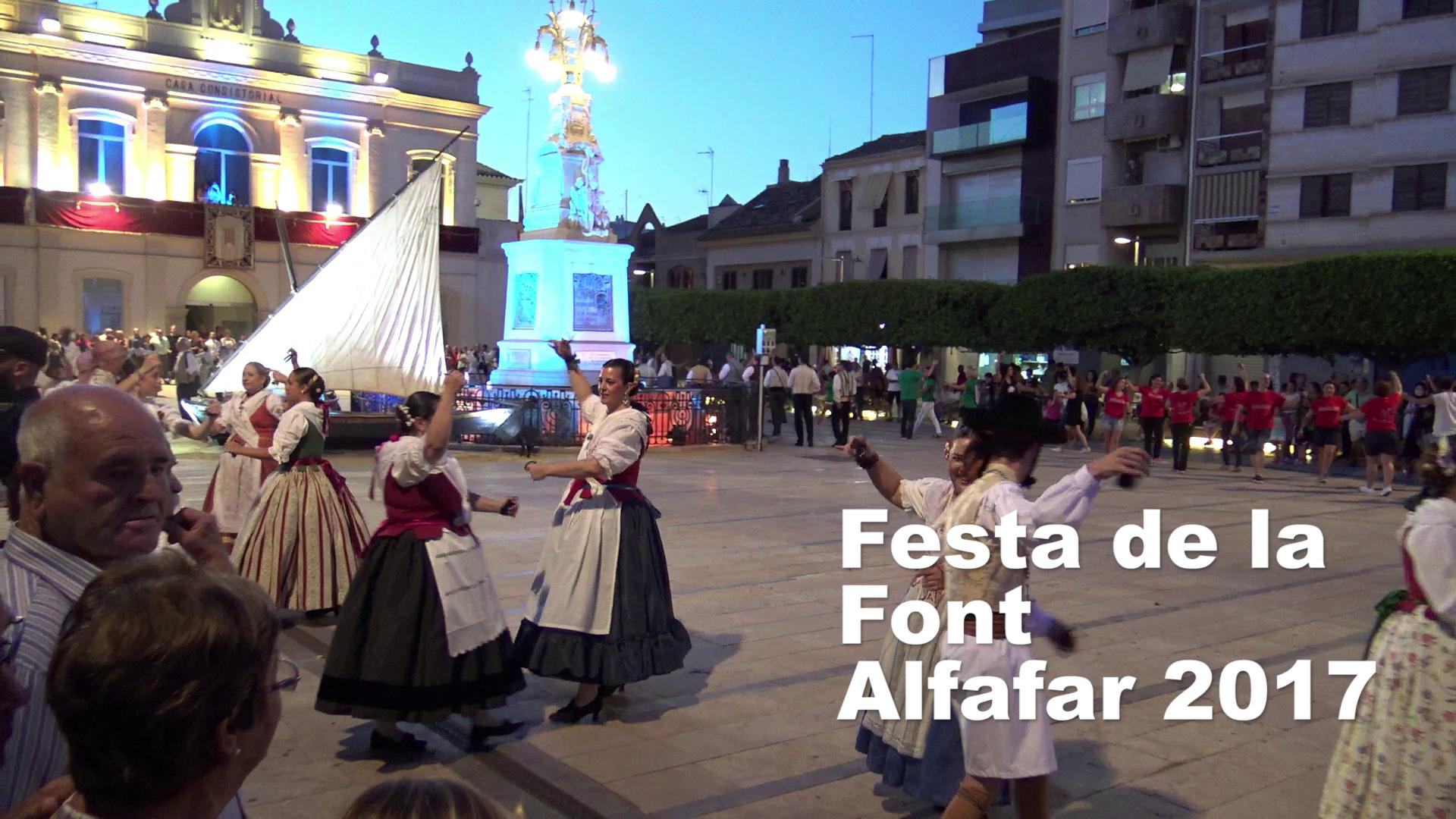 Festa de la Font d'Alfafar 2017