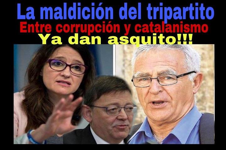 El tripartito Catalanista en el gobierno Valenciano firma un acuerdo con el de Andorra para la promoción del catalán.