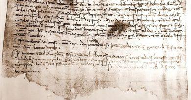El primer document valencià escrit en valencià.