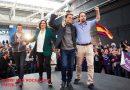 El candidato de la alianza de la extrema izquierda que llama a salir a la calle a golpear a muerte las mujeres españolas en Cataluña.