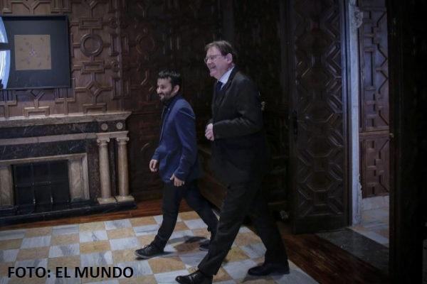 """Posible """"corrupción"""" en subvenciones relacionadas con empresas del hermano de Ximo Puig. """"A disfrutar de lo votado."""""""