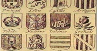 ¿ Donde esta el escudo de Cataluña en este grabado de 1663?