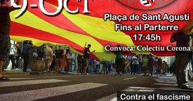 """La """"Marcha de la Senyera"""""""