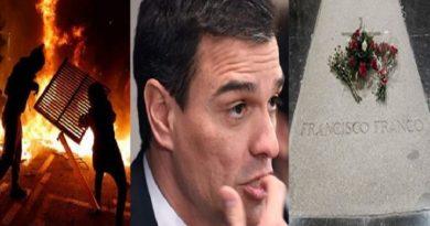 ESPAÑAPedro Sánchez, cobarde con los sediciosos catalanes.