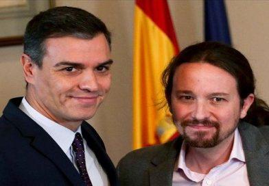 Pablo Iglesias y Sánchez confirma venta de armas a los árabes por 4.042.000 euros