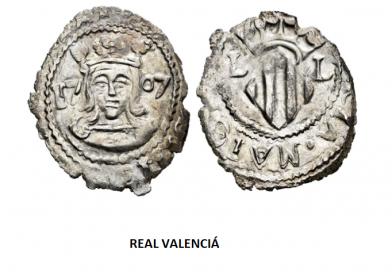 """Moneda """"Reals de Valencia"""""""
