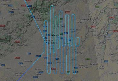 El enigmático vuelo de un avión sobre Madrid que 'inquieta'