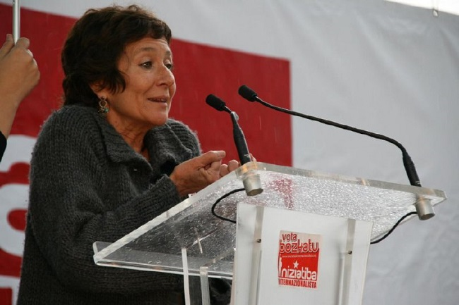 ANGELES MAESTRO: La primera persona que desde la izquierda española denuncia el Genocidio y los Crímenes contra la Humanidad.
