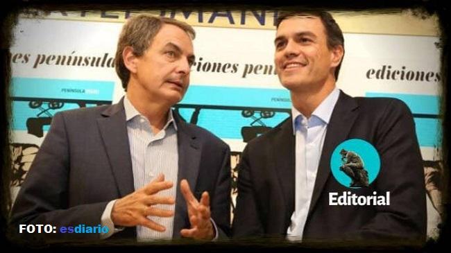 Sánchez conduce a España a la quiebra económica como Zapatero
